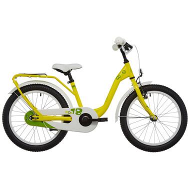 "Vélo Enfant S'COOL NIXE Acier 1V 18"" Jaune 2019"